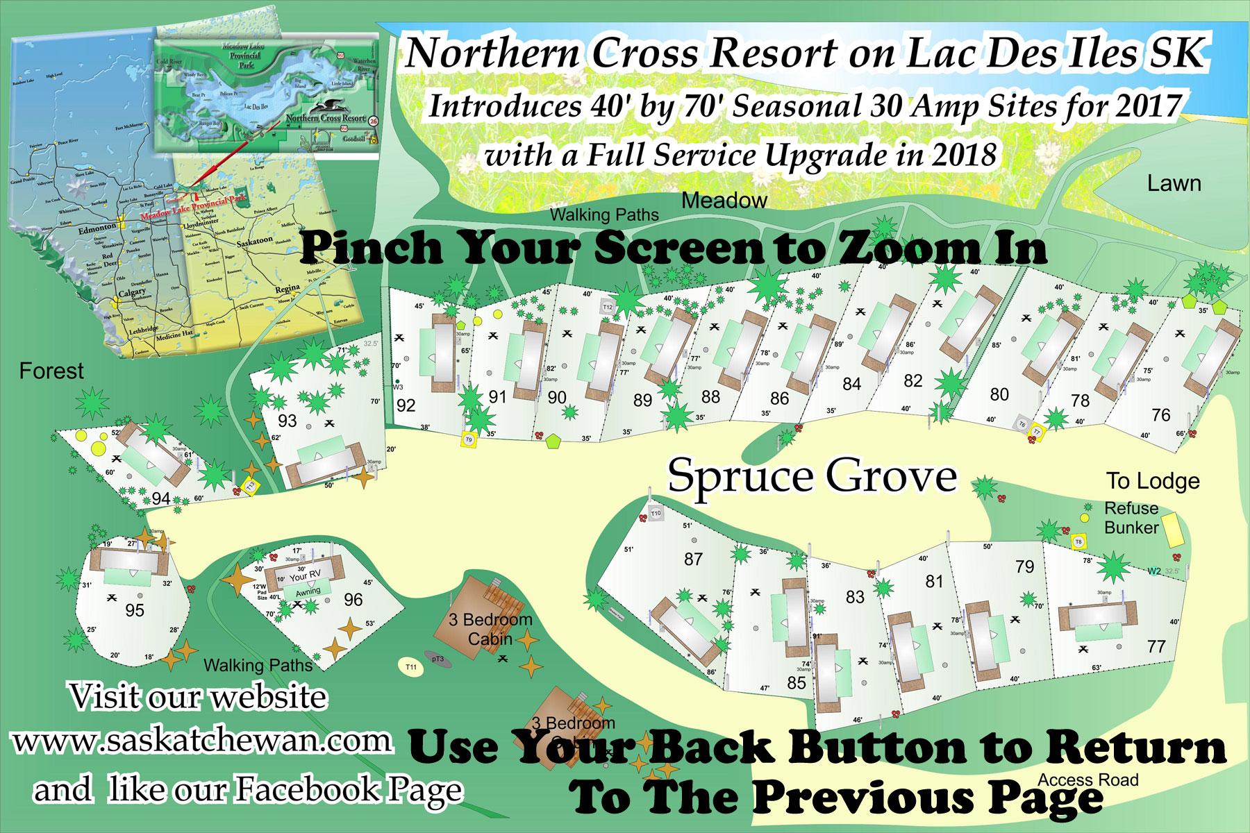Spruce Grove Campsites